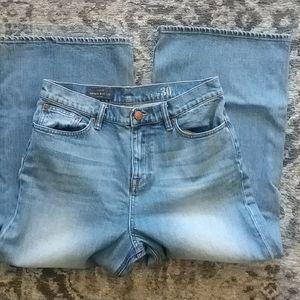 J. Crew Rayner Wide Leg Denim Jeans Women Size 30